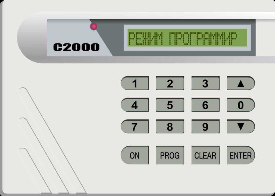 Alarm system S2000 on