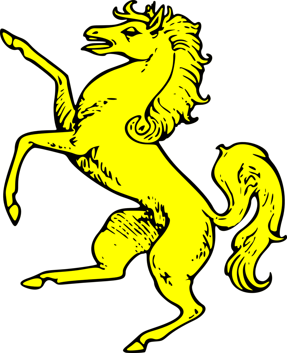 horse rampant