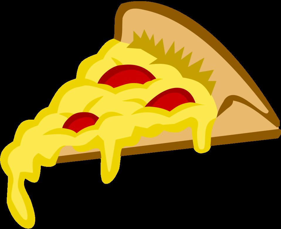 Pizza Slice in Tango Colors