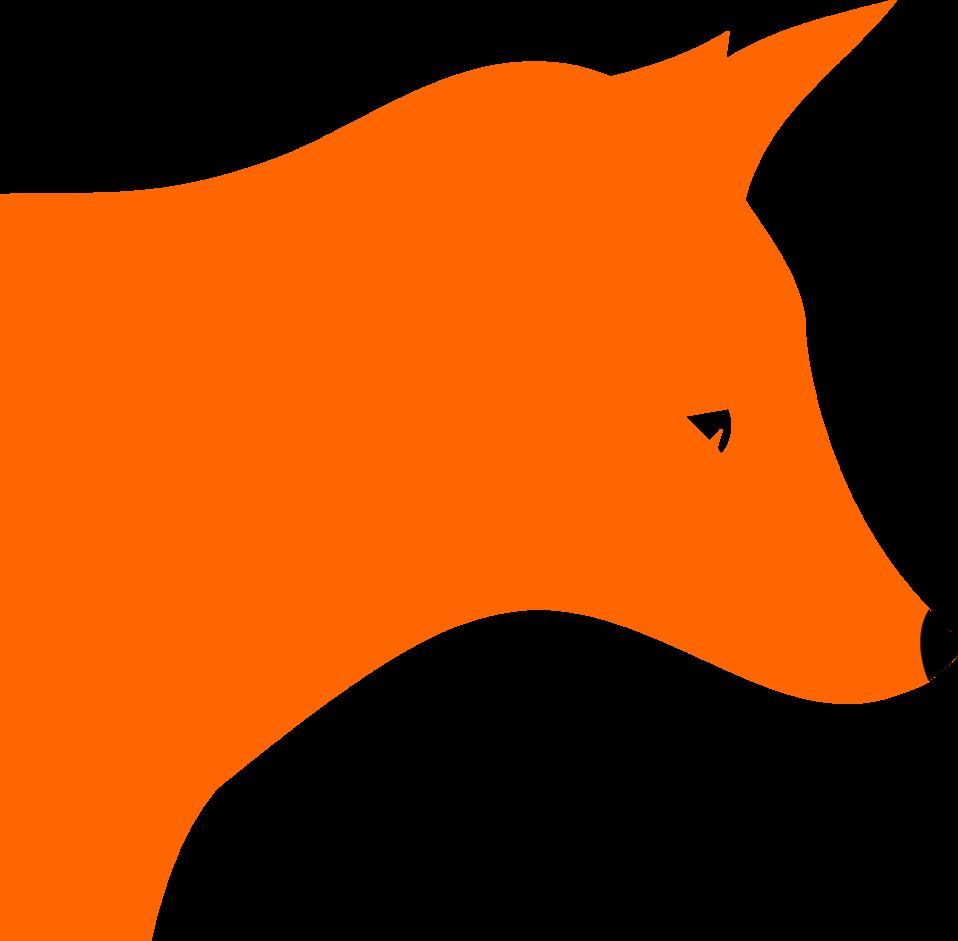 Fox head by Rones