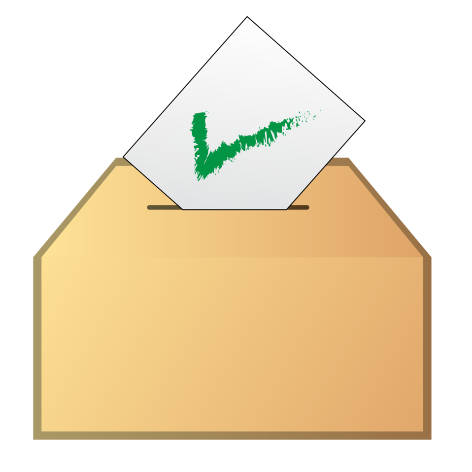 Vote yes icon