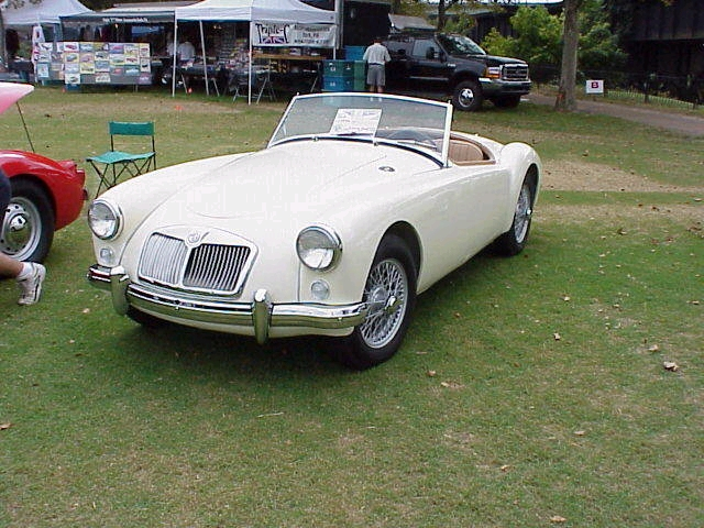 This picture was taken by myself of my 1960 MGA at out British car in Richmond VA, Sept 2000. It is released to public domain, and would be a nice addition to the other photos of MG's, which an MGA is notably absent.