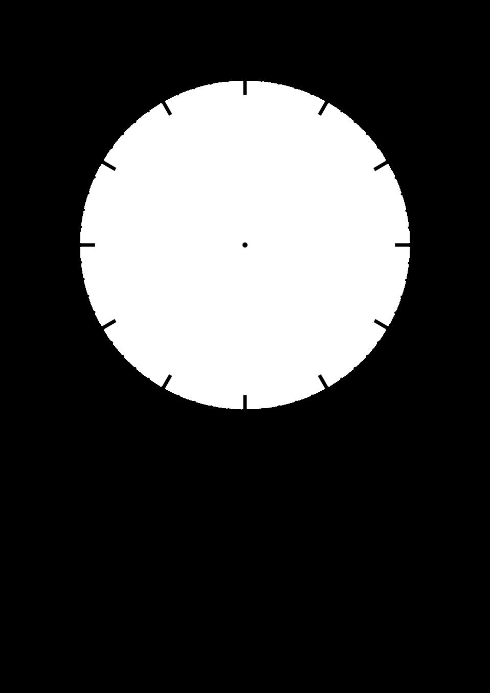 DIY clock face