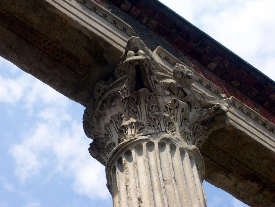 Public Domain Picture | Colonne di San Lorenzo in Milan ...