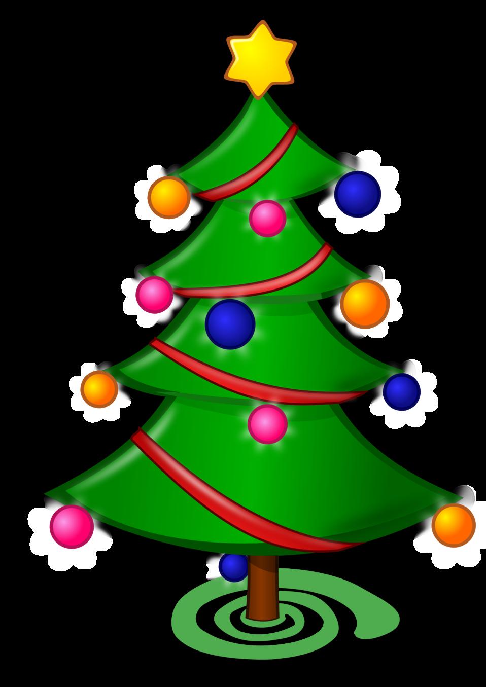Colored: Christmas Tree