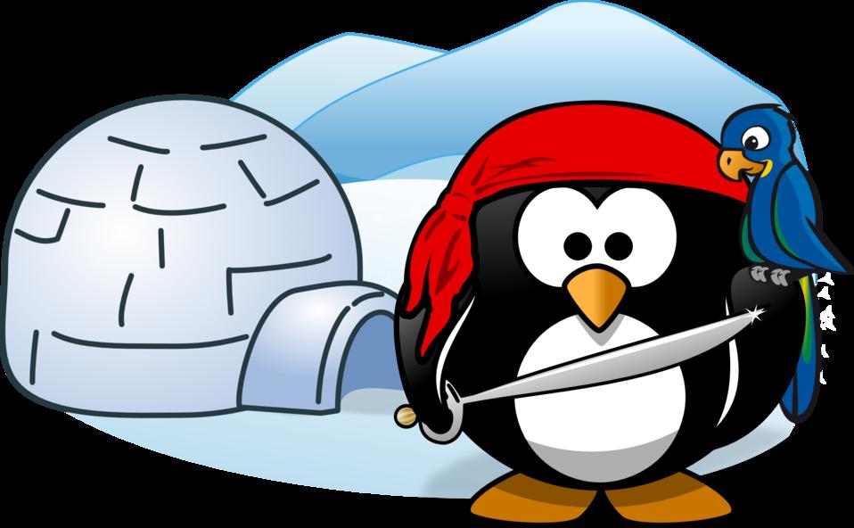 public domain clip art image pirate in antarctica id rh publicdomainfiles com antarctic animals clipart antarctic clipart