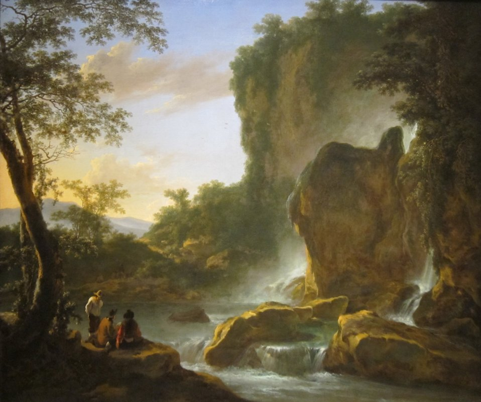 'Italianate Landscape with an Artist Sketching from Nature', oil on canvas painting by Jan Both, c. 1645-50, Cincinnati Art Museum.JPG