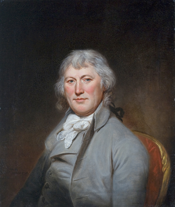 Portrait of James W. de Peyster, oil on canvas painting by Charles Willson Peale, 1798, San Antonio Museum of Art