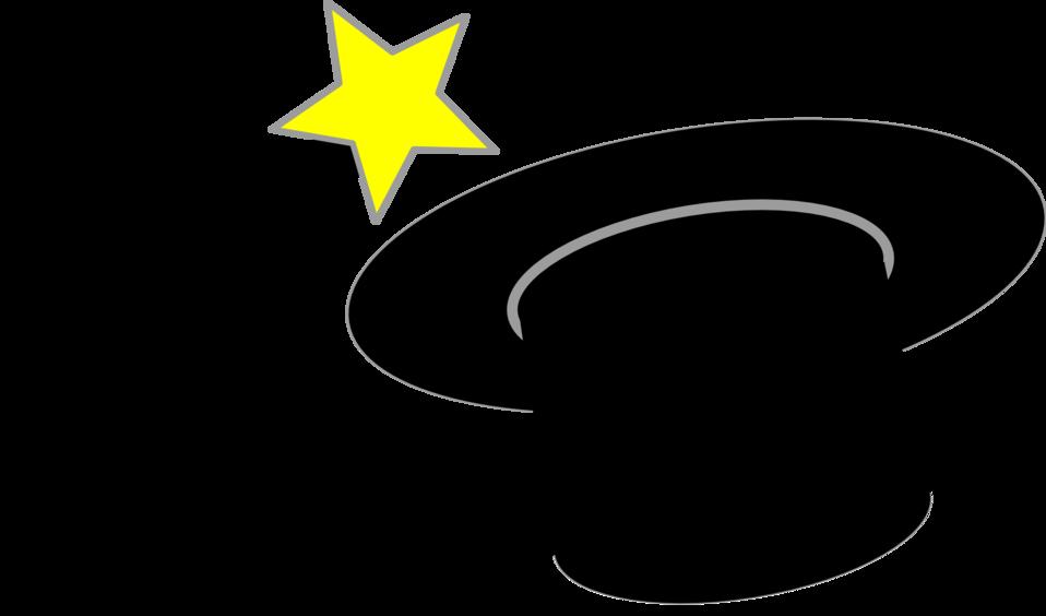 Magic wand and hat - chapeau et baguette magique