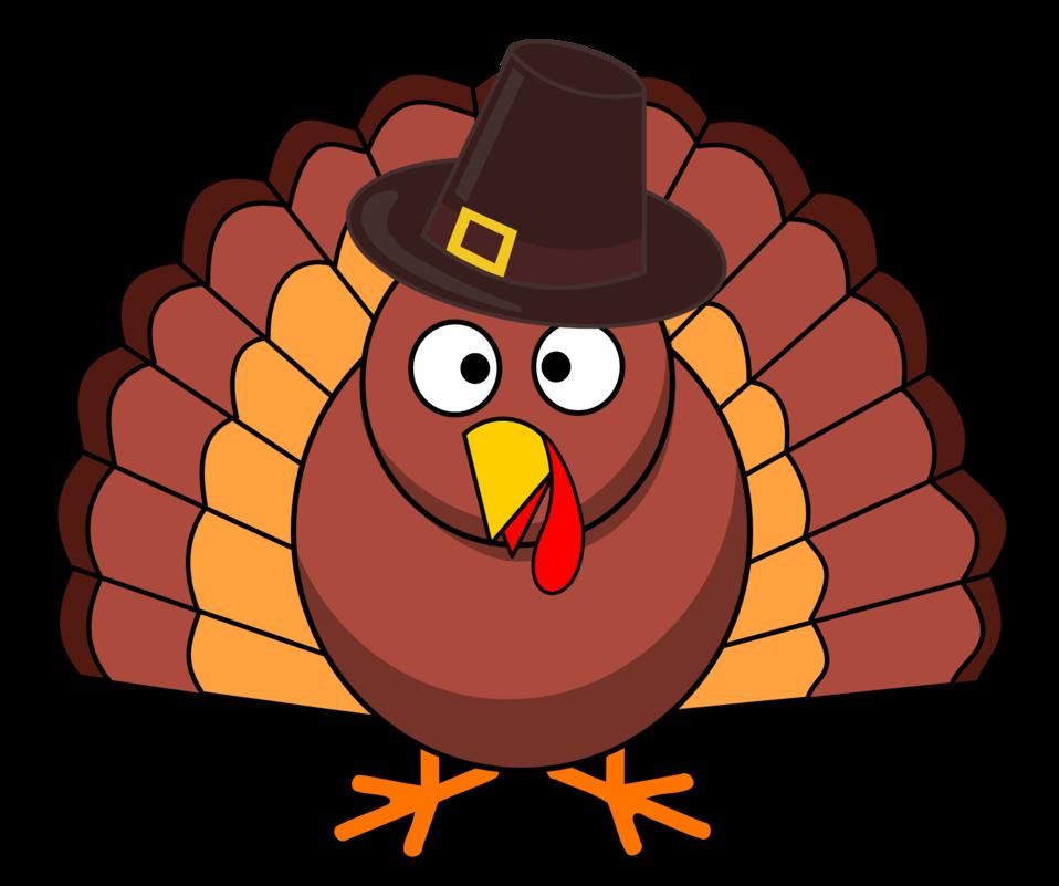 Turkey With Brown Hat