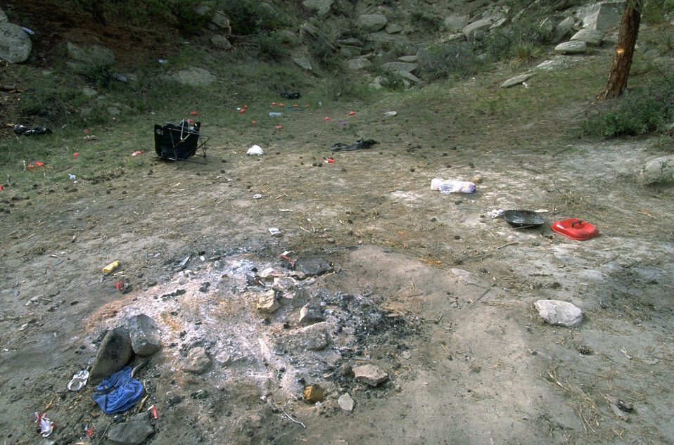 Results Of A Kegger In The Acton Recreation Area
