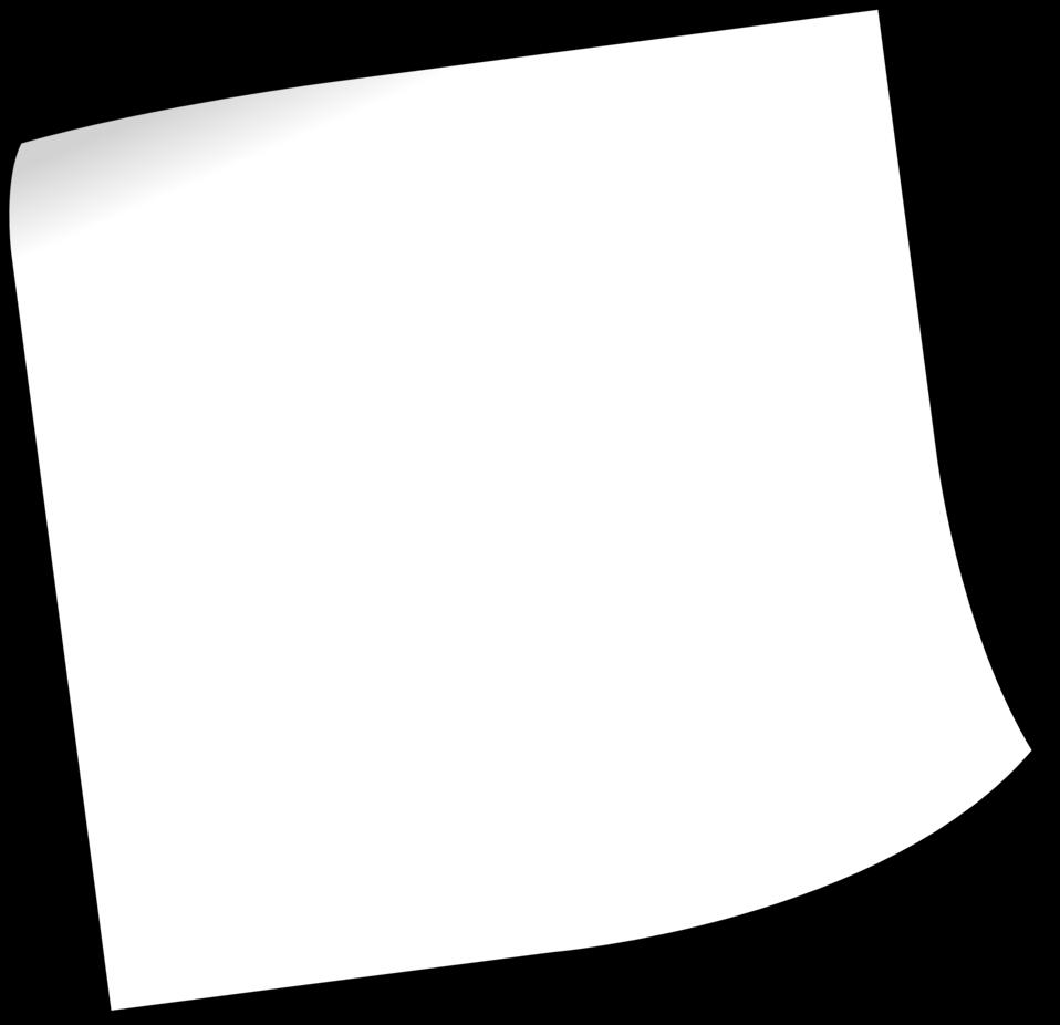 Blank sticky note 1
