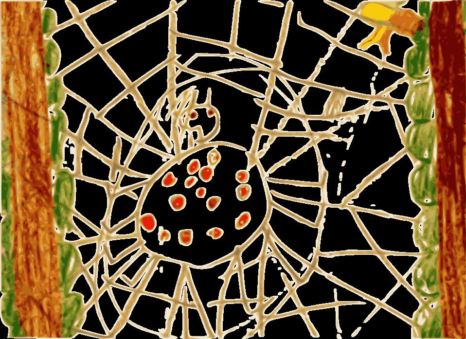 Kindergarten Art Spider