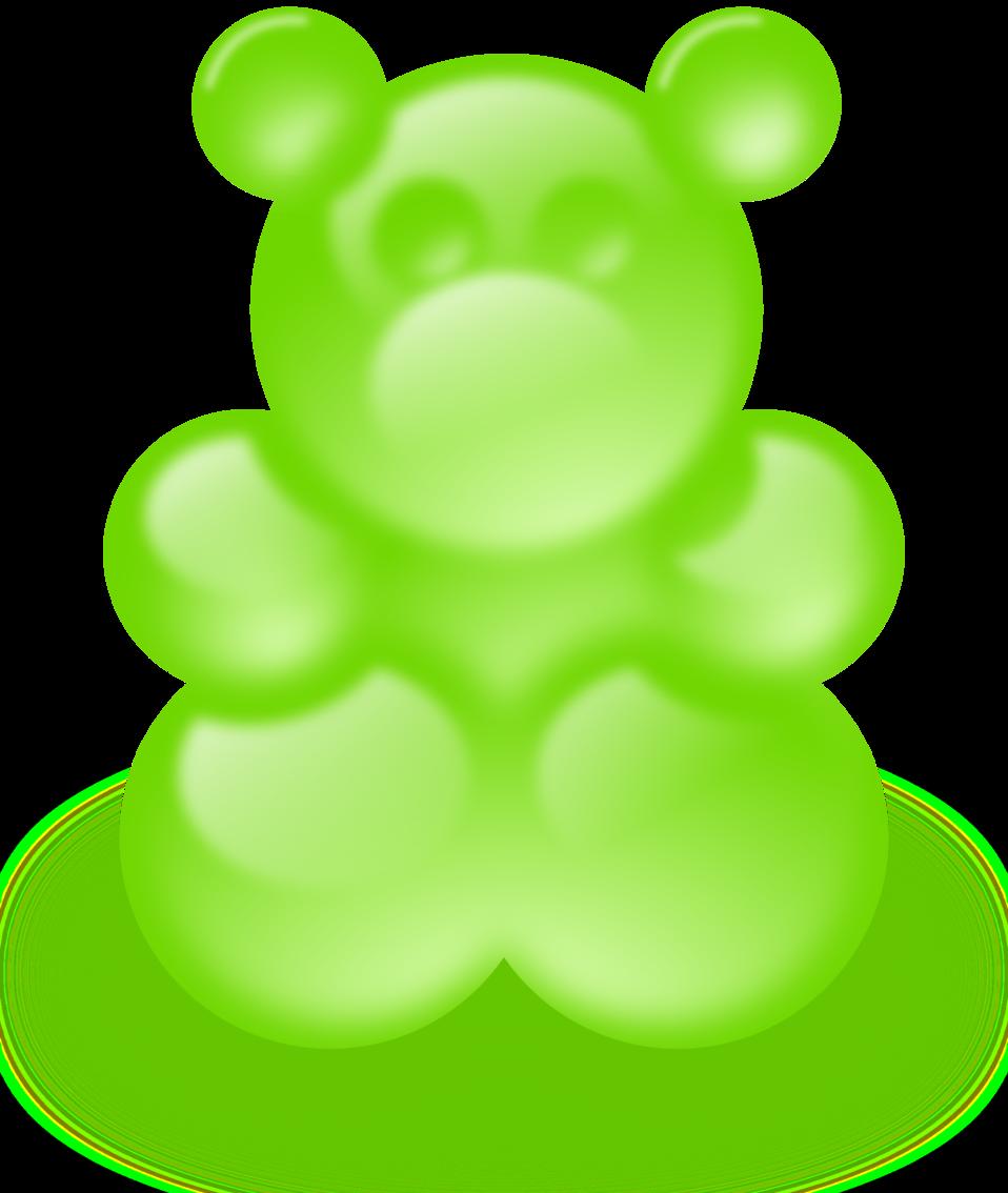 Gummy bear (sort of)
