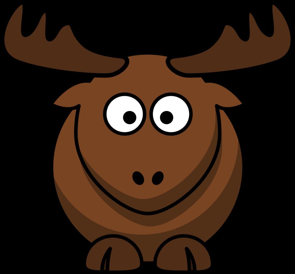 Cartoon elk