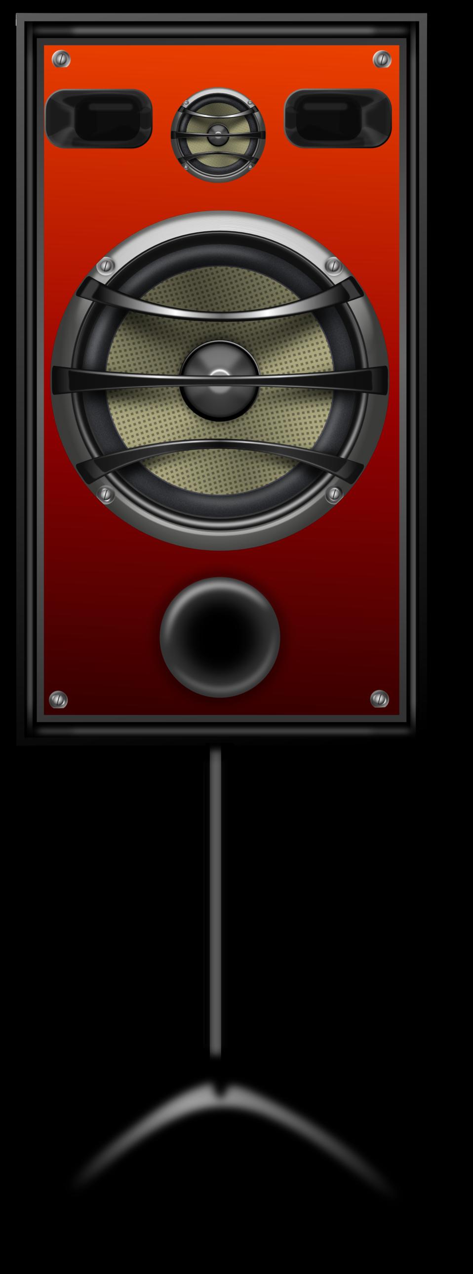 Studio Speaker 2 Orange Grill