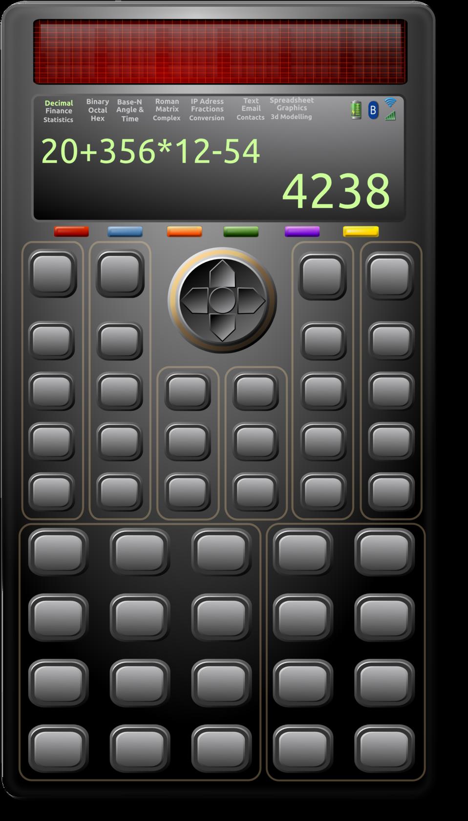 Scientific Solar Calculator 1