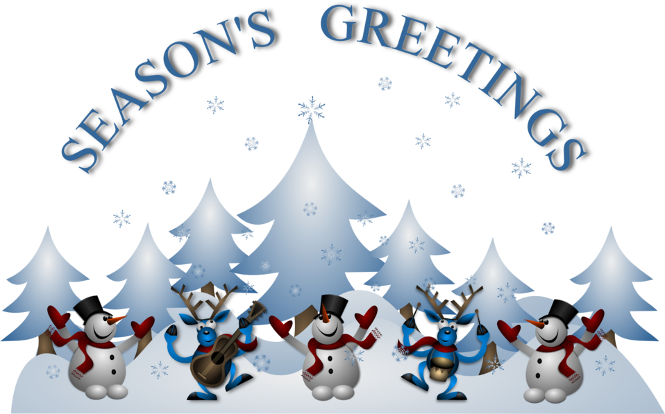 Seasons Greetings Card Front