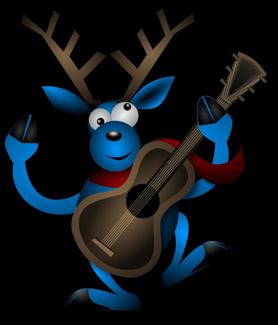 Dancing Reindeer 1