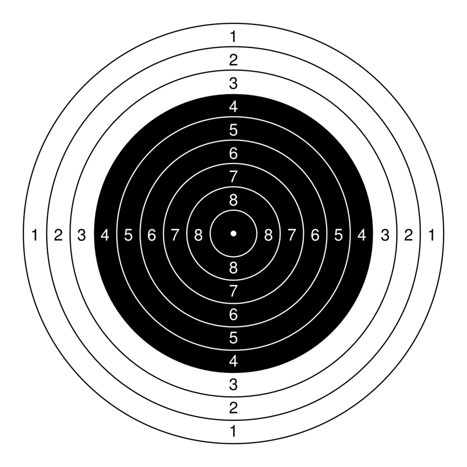 public domain clip art image target for air rifle at 10 pistol clipart hd pistol clipart png