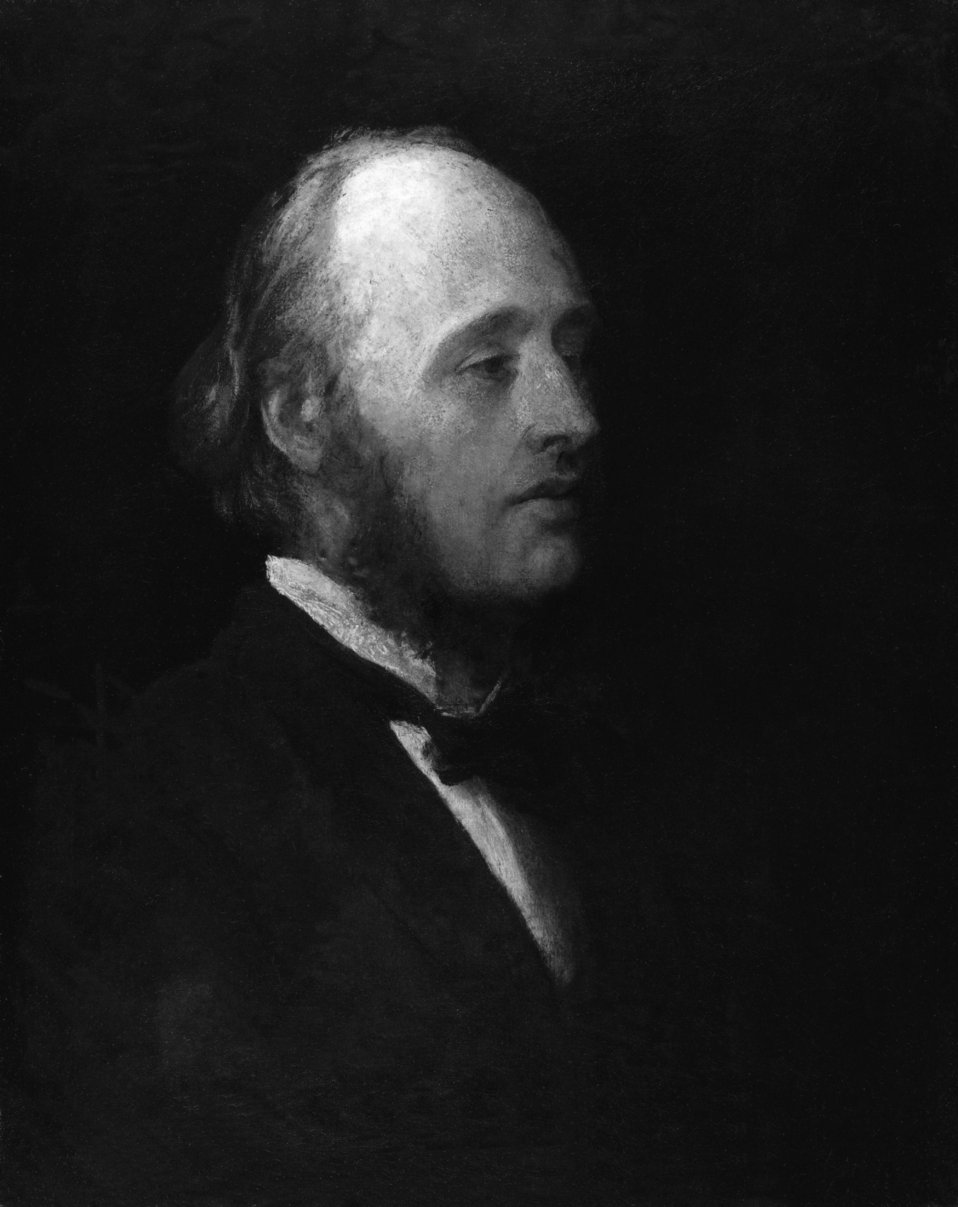 (William) Edward Hartpole Lecky, by George Frederic Watts (died 1904), given to the National Portrait Gallery, London in 1903. See source website for additional information. This set of images was gathered by User:Dcoetzee from the National Portrait Galle
