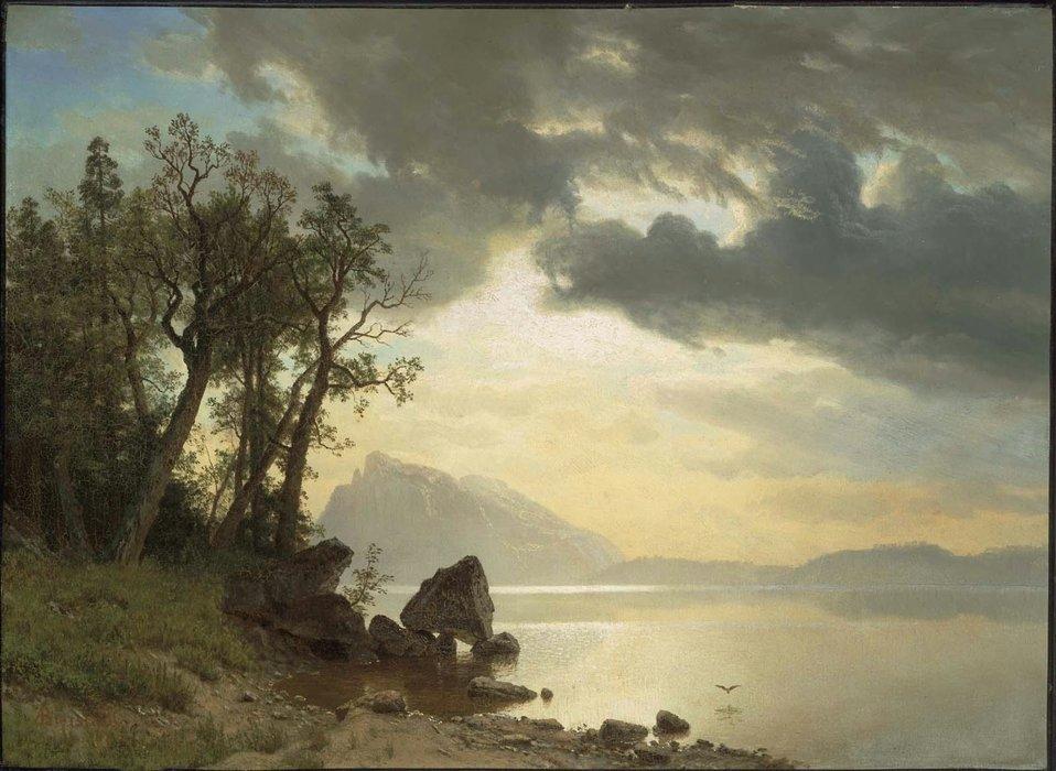 Albert Bierstadt - Lake Tahoe, California.jpg