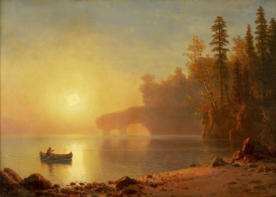Albert Bierstadt - Indian Canoe.jpg