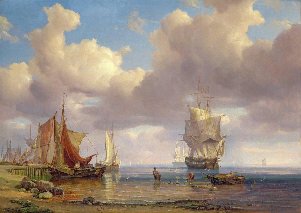 Adolph Friedrich Vollmer - Ruhige See.jpg