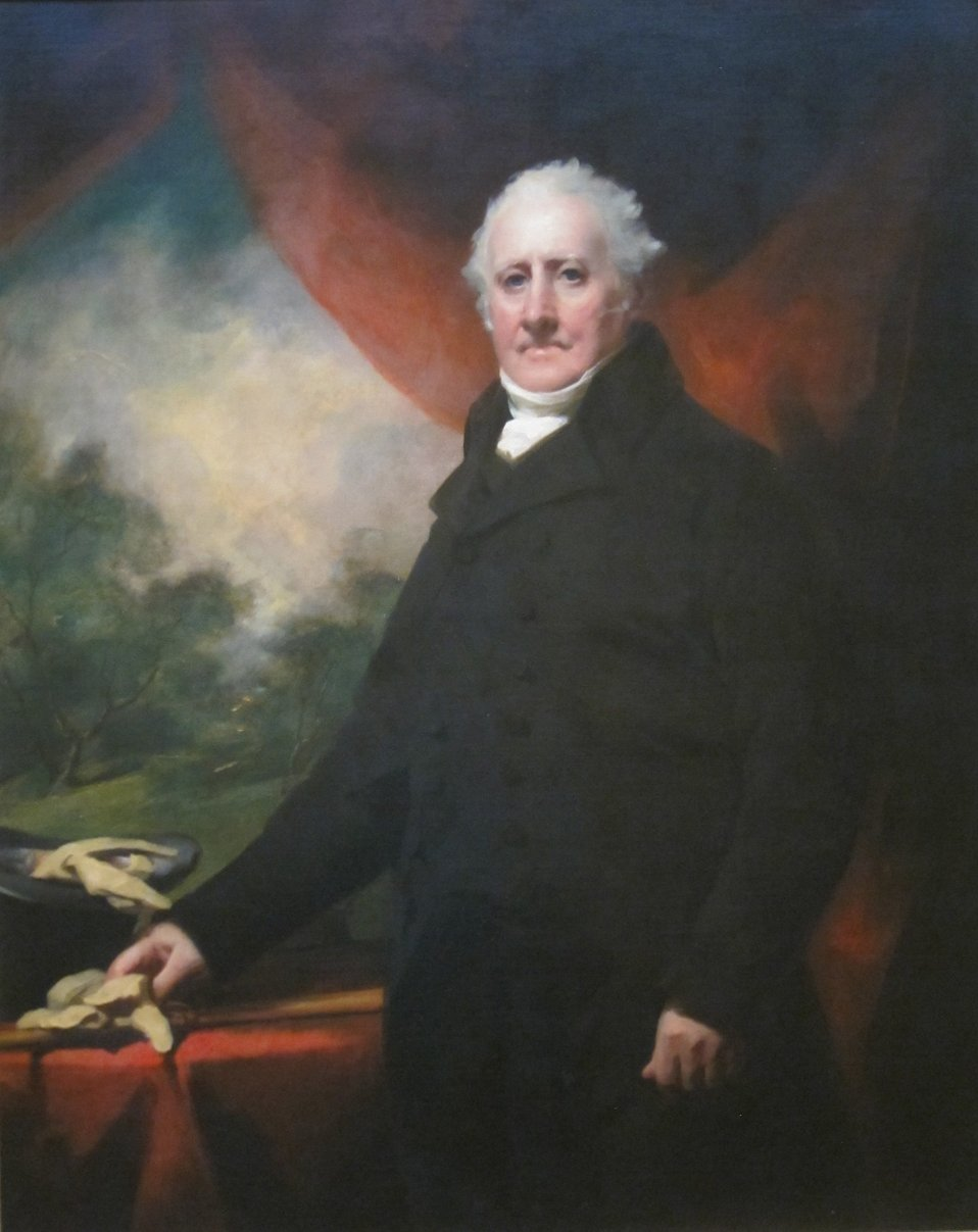 Portrait of Andrew Wauchope of Niddrie, oil on canvas painting by Henry Raeburn, c. 1800, Dayton Art Institute