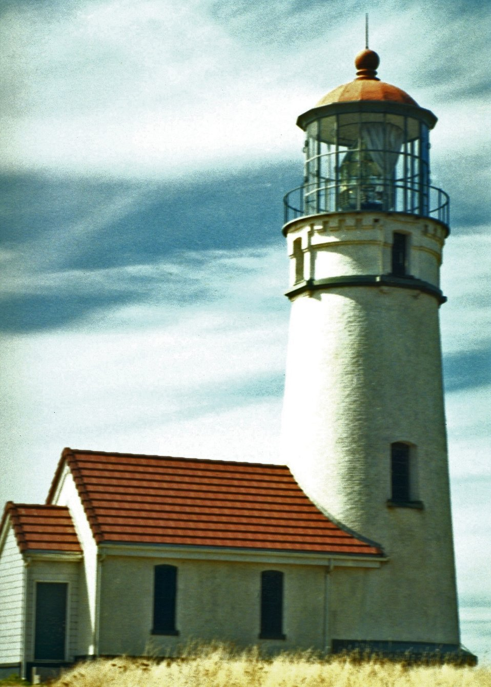 Cape Blanco Lighthouse during daytime.