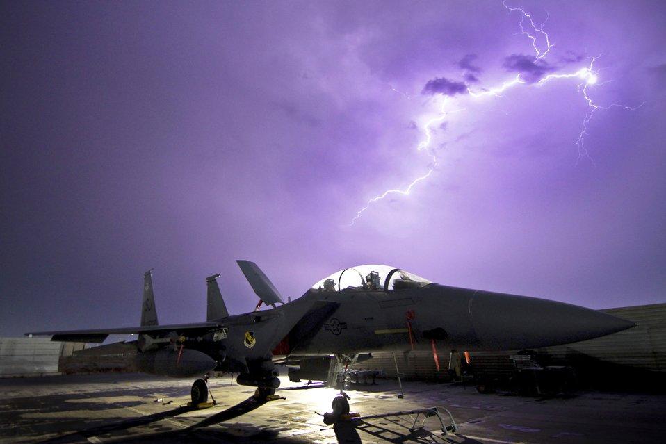Eagle lightning