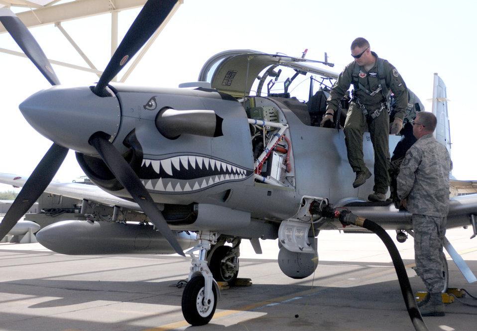 Light-attack aircraft