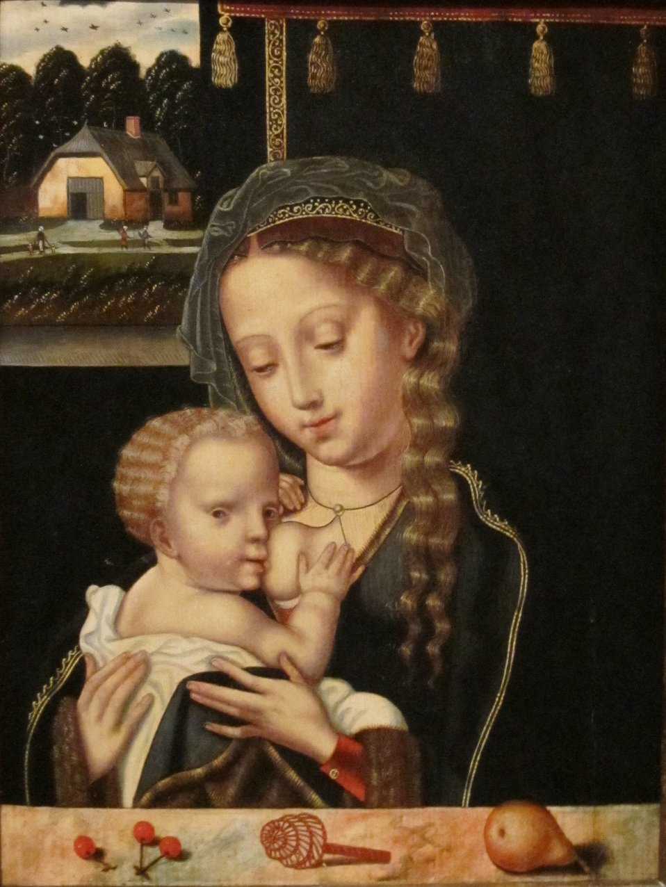 Category:15th-century paintings of Madonna and Child