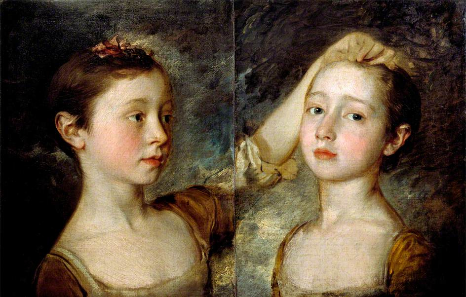 Thomas Gainsborough - Mary and Margaret Gainsborough, the artist's daughters.jpg