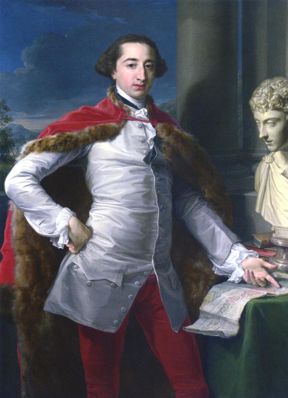 Pompeo Batoni - Portrait of Richard Milles - 1758.jpg