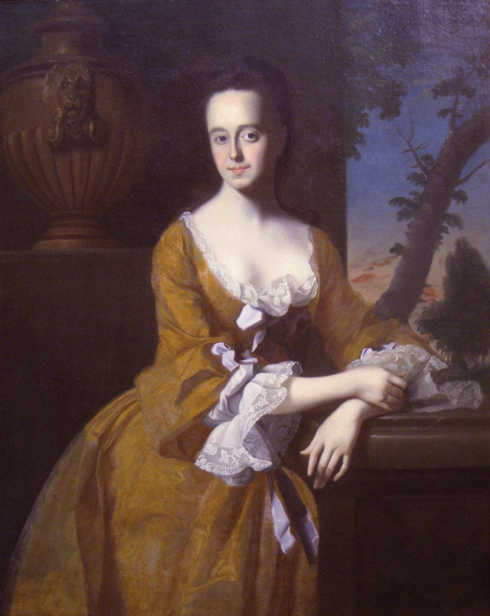 Lucretia Chandler, Mrs. John Murray, 1763, by John Singleton Copley (1738-1815) - Worcester Art Museum - IMG 7698.JPG