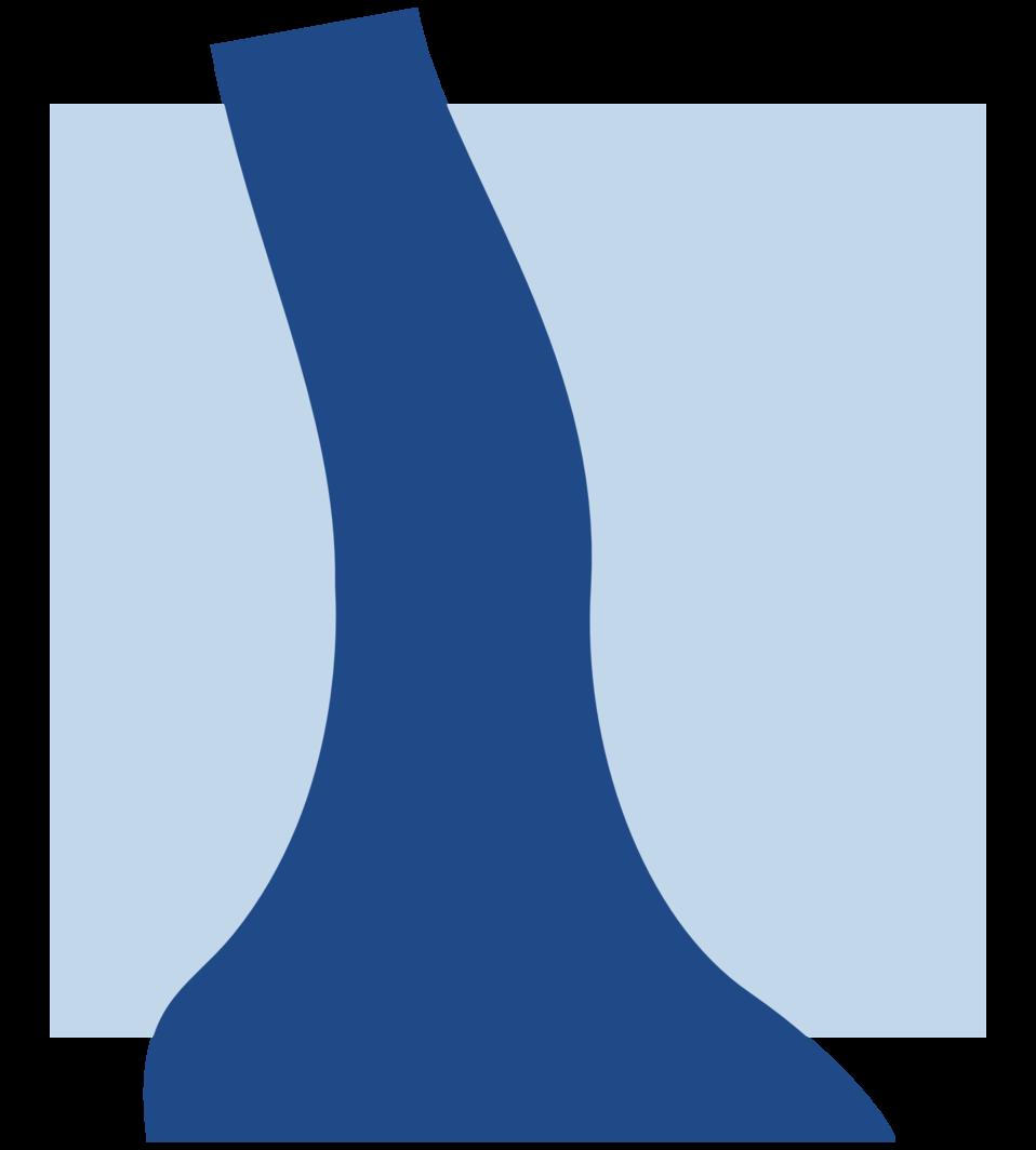 Icon for a river estuary