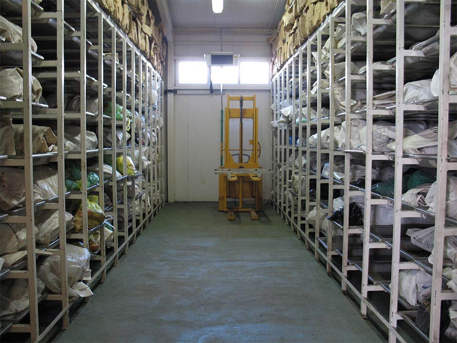 ICMP's Podrinje Identification Project (PIP) was formed to deal with the identification primarily of victims of 1995 Srebrenica massacre. PIP includes a facility for storing, processing, and handling exhumed remains. Much of the remains are only fragment
