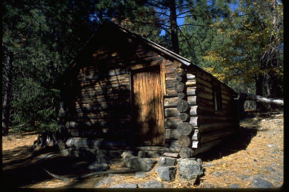 Old Log Cabin.