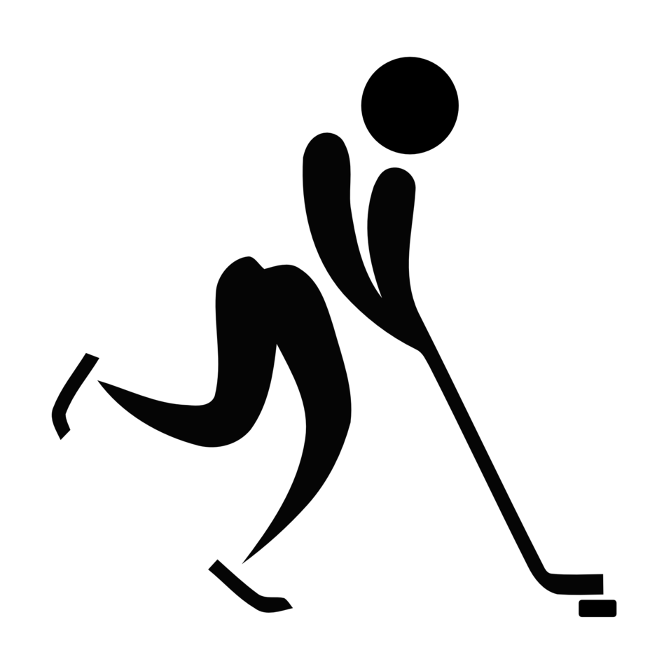 Pictograms of Olympic sports - Ice hockey