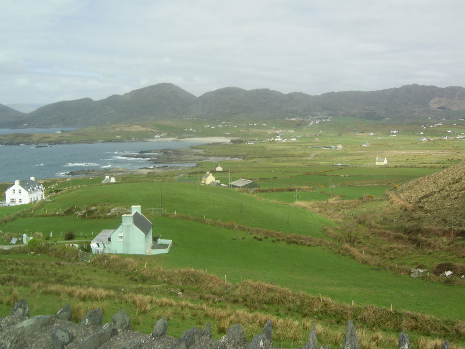 View of Allihies.  Allihies