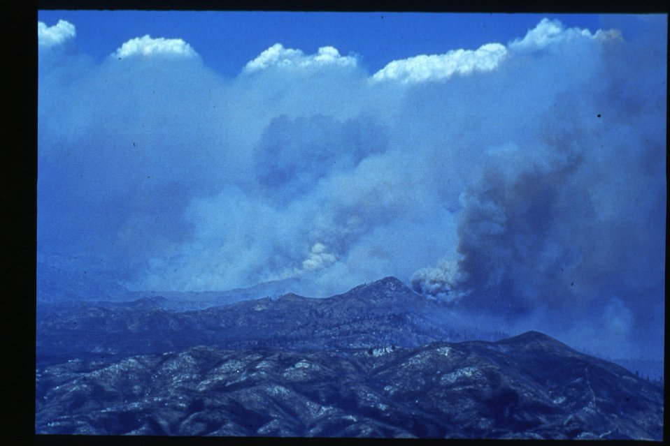 Boise Foothills Fire  Danskin Mountains and South Fork of Boise River  Smoke  Four River Field Office  LSRD  Lower Snake River District
