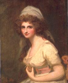 George Romney - Emma Hart, later Lady Hamilton, in a White Turban.jpg