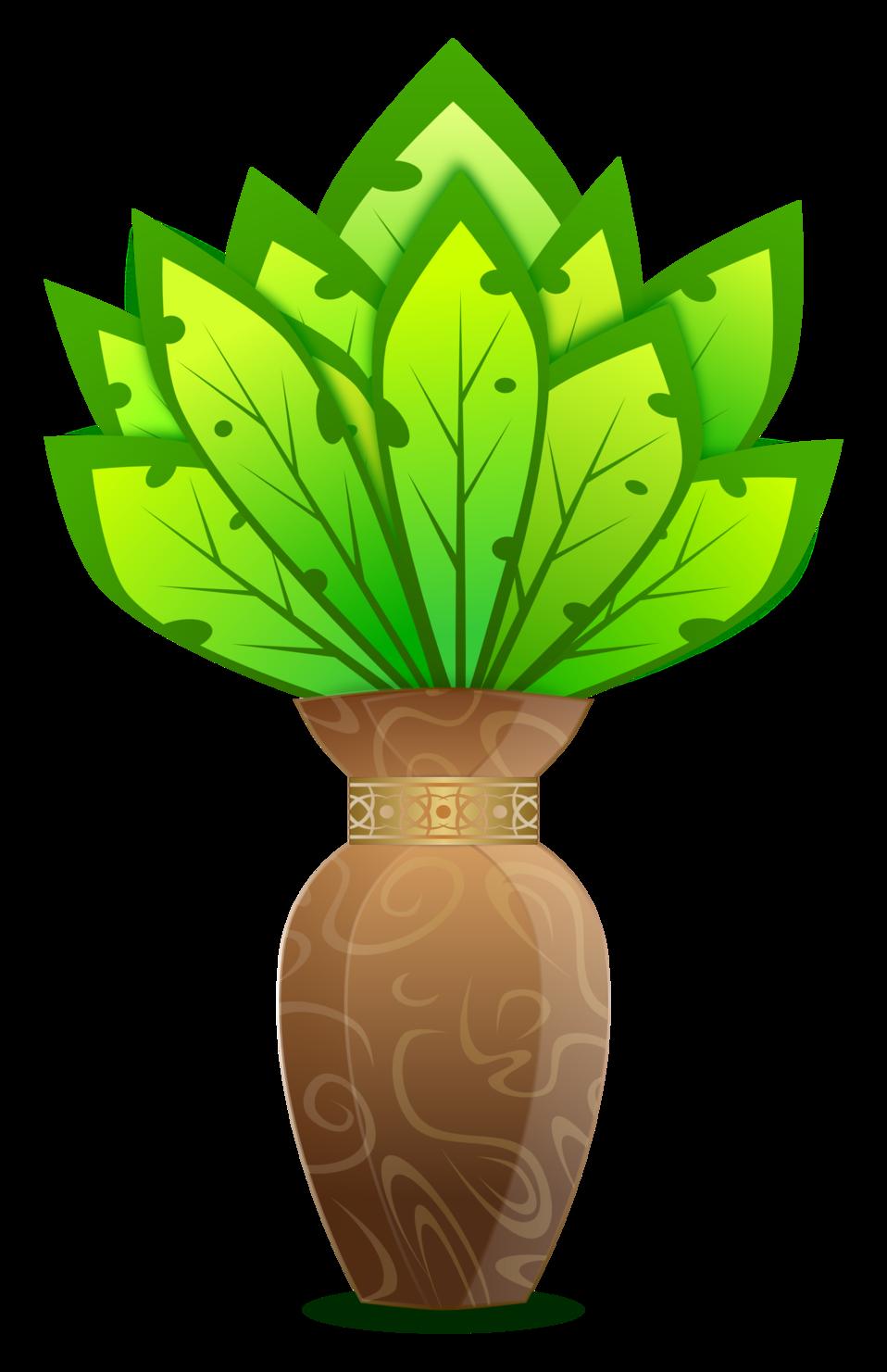 Plant And Vase / Planter