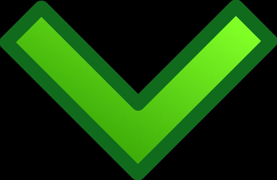 green single arrows set
