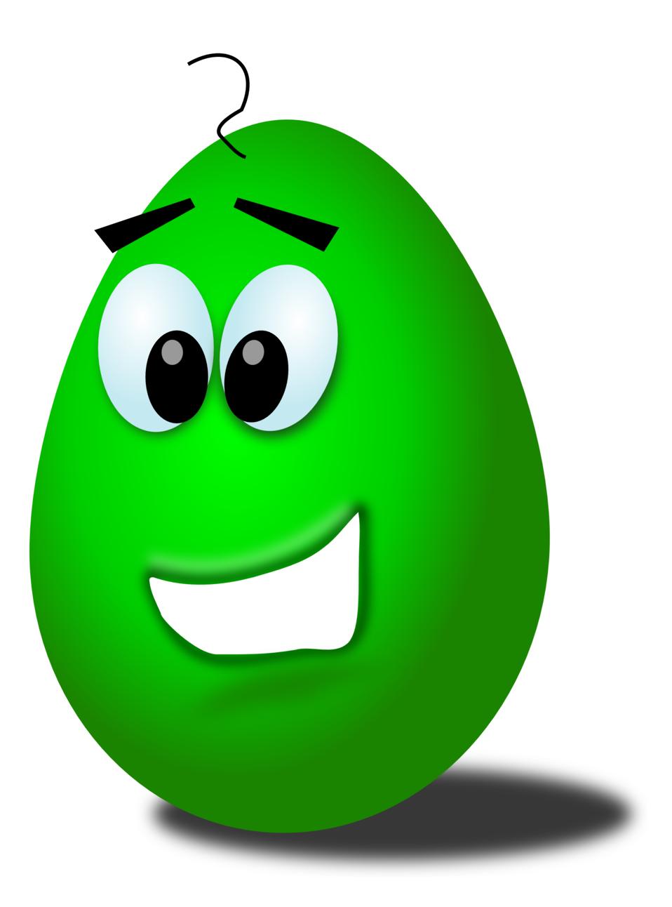 green comic egg