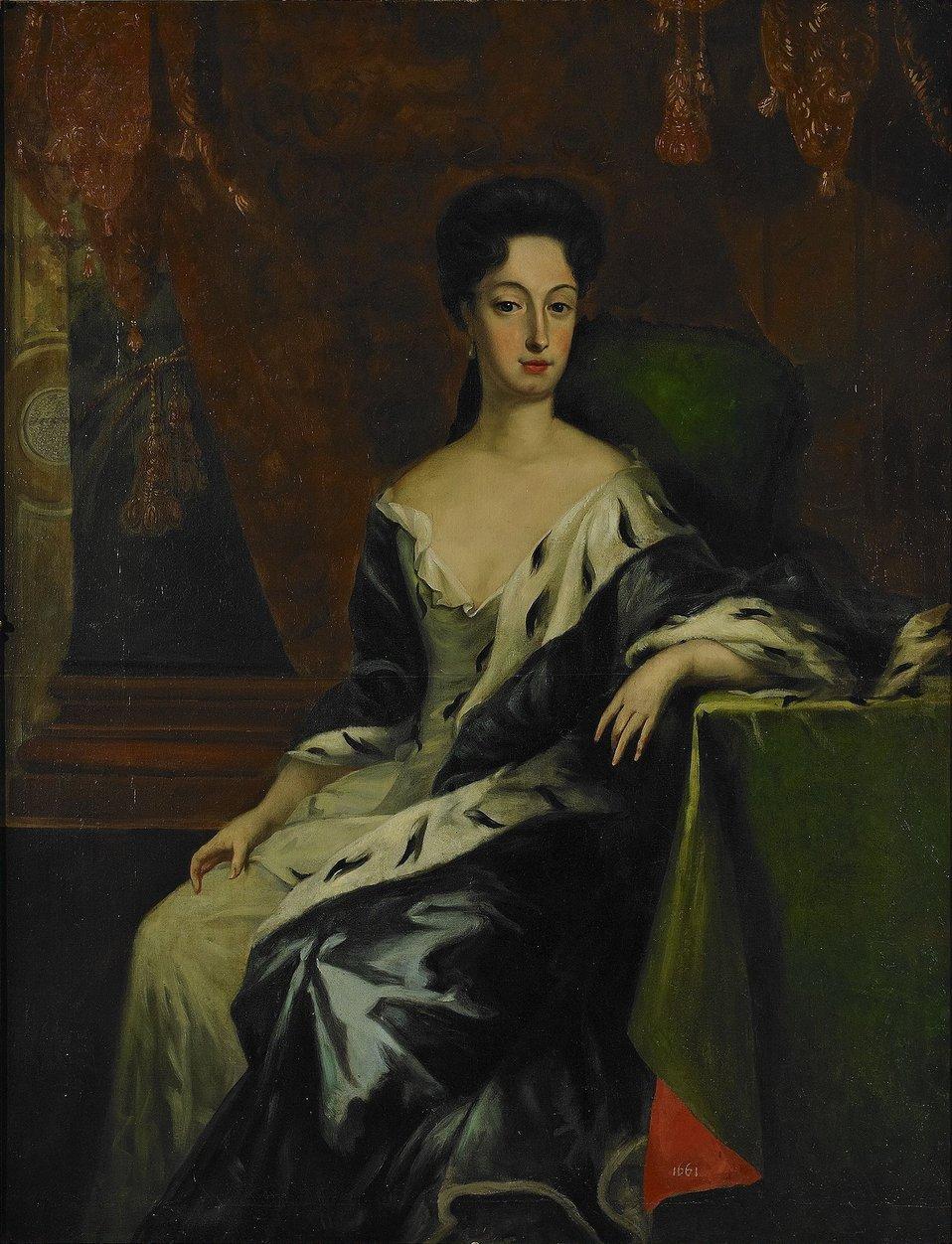 David von Krafft - Porträt der Prinzessin Hedwig Sophia von Schweden, Herzogin von Holstein-Gottorf.jpg