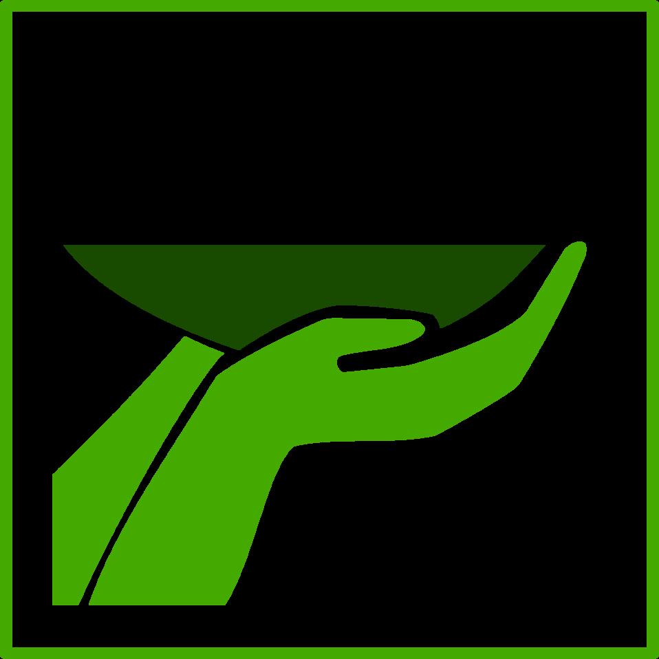 ECO green food icon