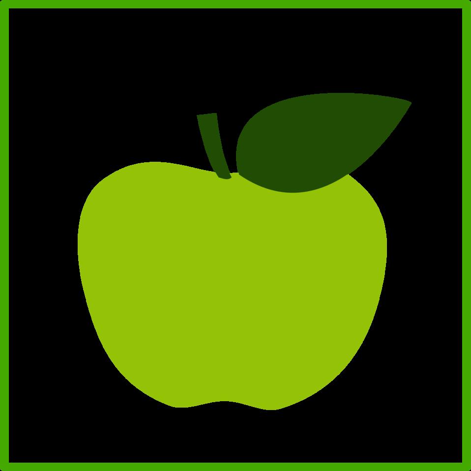 eco green apple, icon