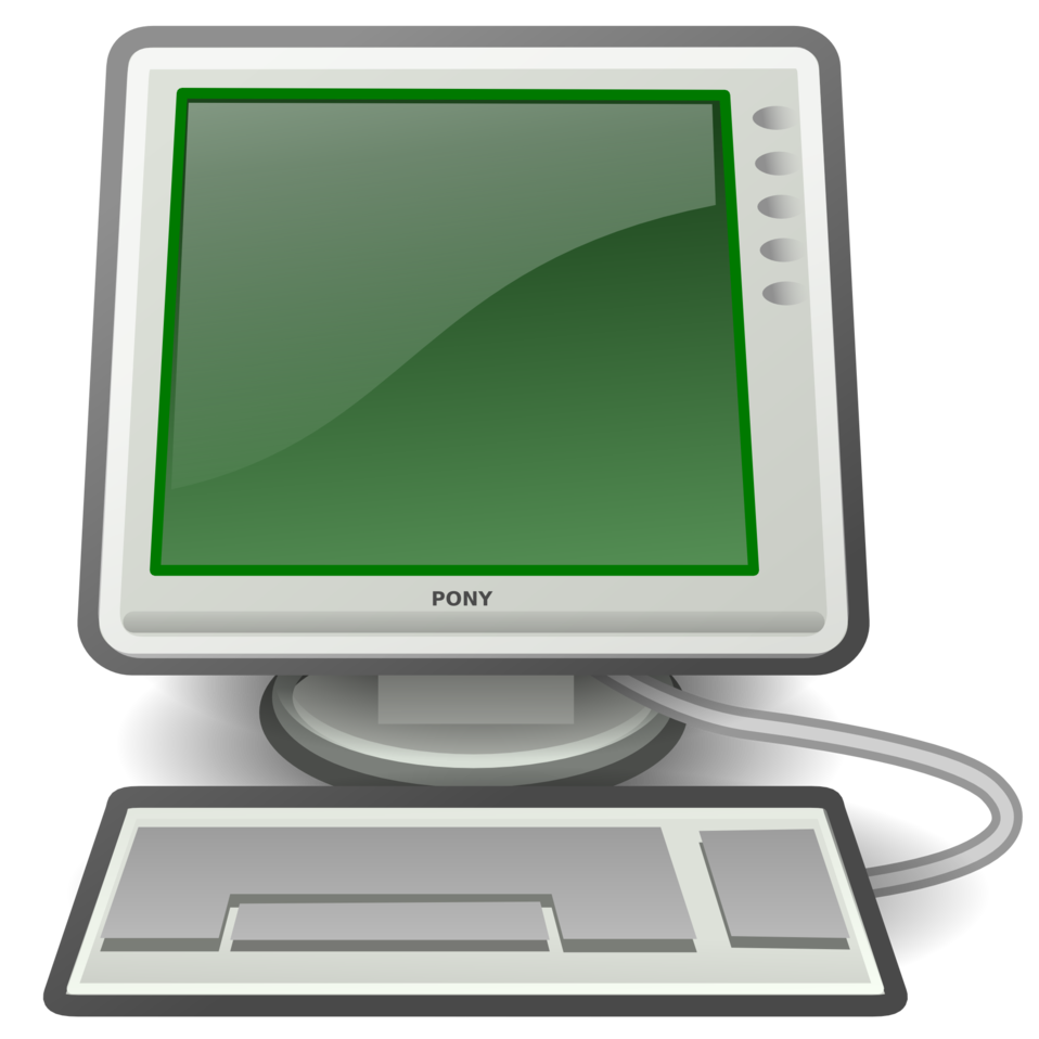 tango computer green
